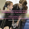 WAG Gymnastics teaches kids how to take and apply feed back