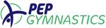 pep gymnastics logo landscape curved 511x137