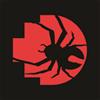 redback pixel with spider black background2