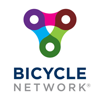 Bicycle Network Vert on white