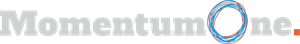MomentumOne Logo Grey