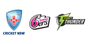 NSW Sixers Thunder logo